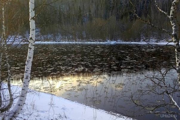 Немного солнца в холодной воде. Шудаяг. Природа Ухты и Коми Ухта