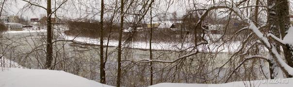 Осенний ледоход. Природа Ухты и Коми Ухта