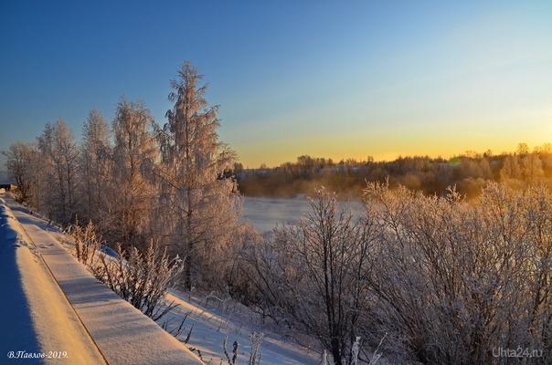 Зимний день..  Ухта