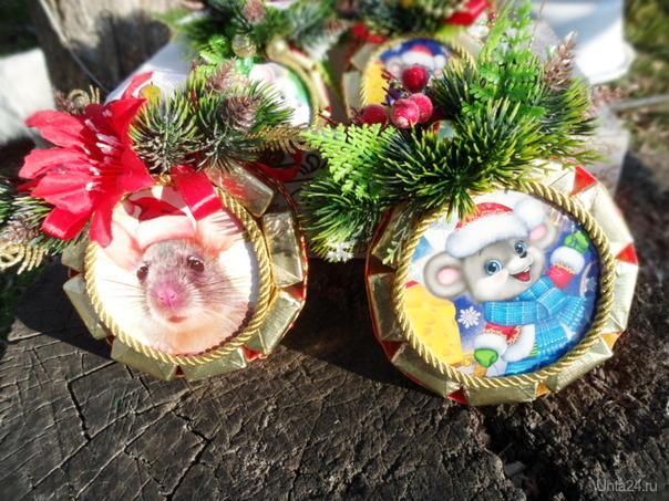 """""""Шарики""""-подвески с конфетками на елку. Творчество, хобби Ухта"""