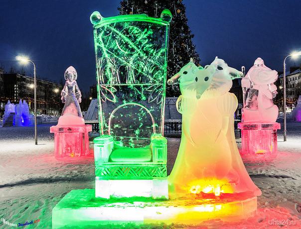 Мышиный король, главный символ 2020 года) Улицы города Ухта