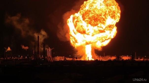Пожар на территории Нефтеперерабатывающего завода Происшествия Ухта