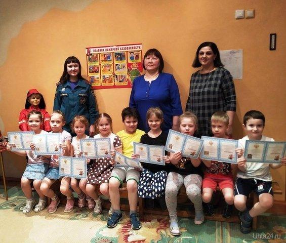 Малыши ухтинского детского сада №60 теперь юные пожарные  Ухта