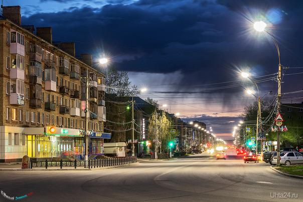 Майский проспект Ленина Улицы города Ухта