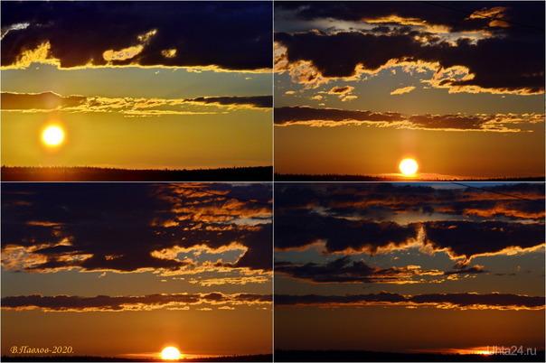 Ухтинские закаты.. Природа Ухты и Коми Ухта