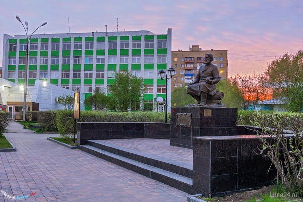 Закатный этюд... Улицы города Ухта