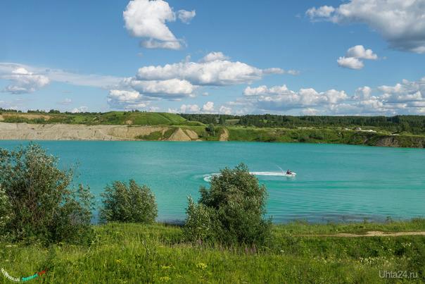 Голубое озеро - это не в лесах) Природа Ухты и Коми Ухта