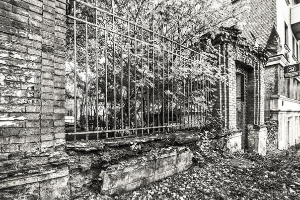 умирающий старый город Улицы города Ухта