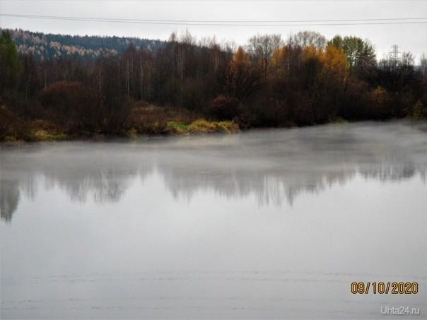 Туман Природа Ухты и Коми Ухта