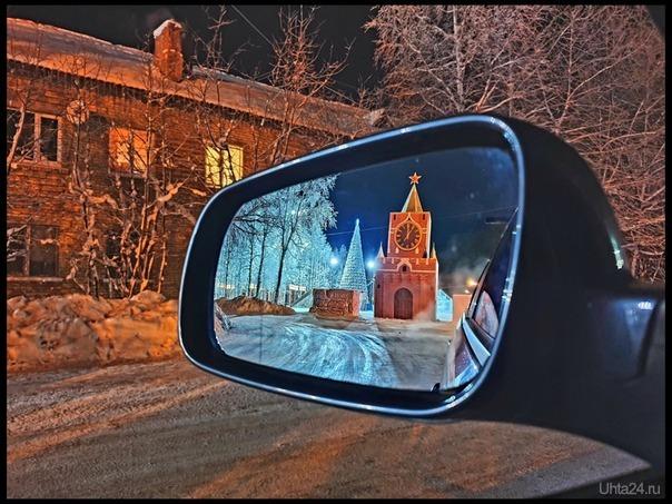Автор фото Павел Чмель. Ярега новогодняя.  Разное Ухта