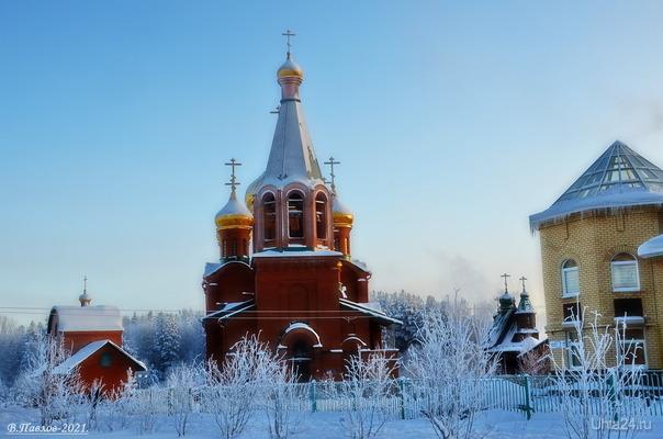 Морозец.. Улицы города Ухта