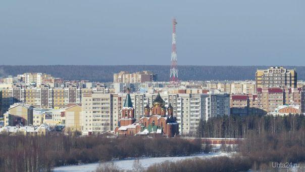 Солнечный февраль 2021го Улицы города Ухта