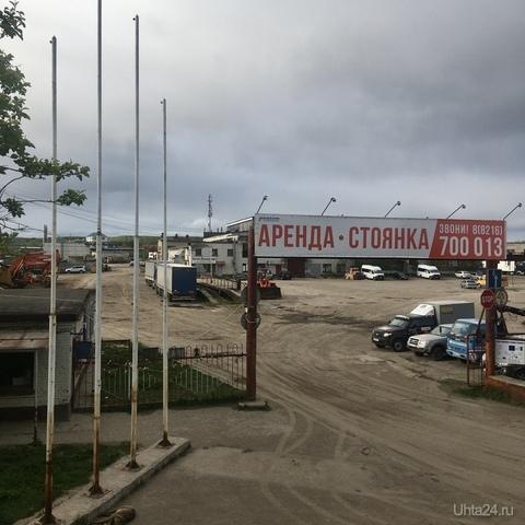 Въезд на территорию ТЕХНИЧЕСКИЙ ЦЕНТР ДЕЖНЕВСКИЙ Ухта