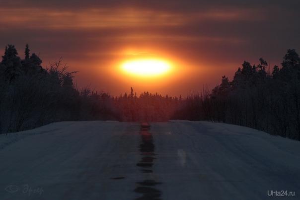 Путь домой. На дороге Ухта