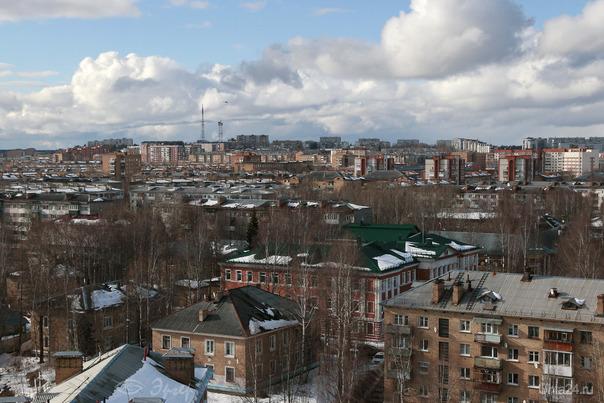 Крыши. Улицы города Ухта