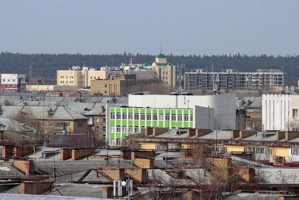Крыши Улицы города Ухта