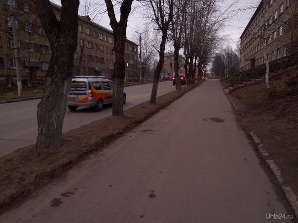 Улица Октябрьская без заборов :) Улицы города Ухта