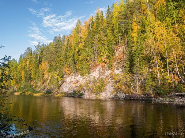 Скалы реки Чуть Природа Ухты и Коми Ухта