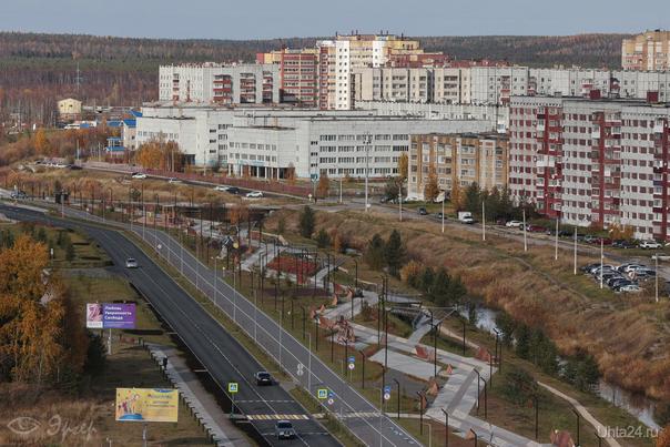 Набережная Улицы города Ухта