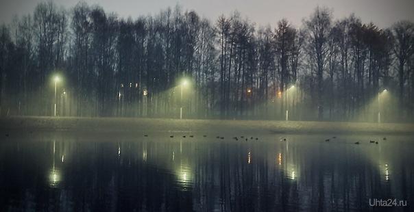 Утиное Озеро Улицы города Ухта