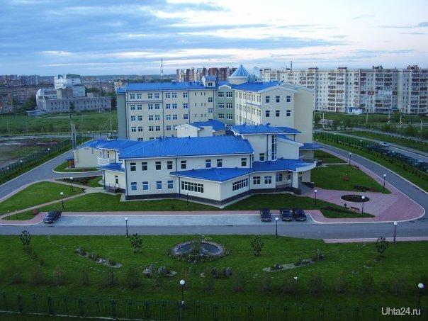 Здание УСМН Улицы города Ухта