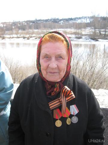 Рочева Лидия Петровна . Труженик тыла. Ветеран труда.  Ухта