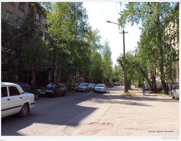 40 лет Коми. Улицы города Ухта