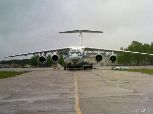 ИЛ-76 АЭРОПОРТ Ухта