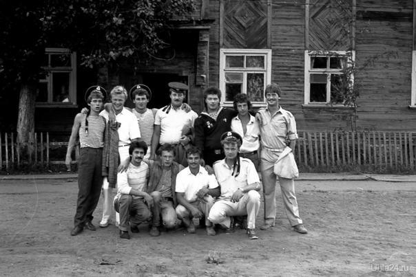 1988г. День ВМФ.  Ухта