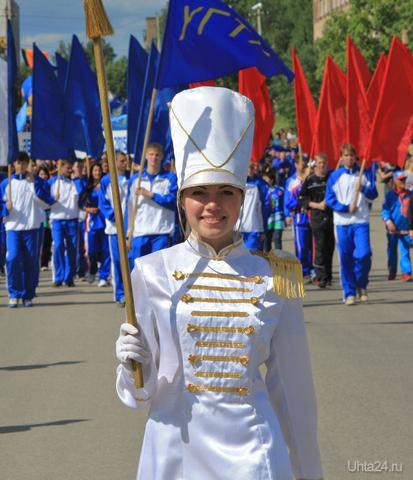 Выпуск УГТУ 2010 (шествие)  Ухта