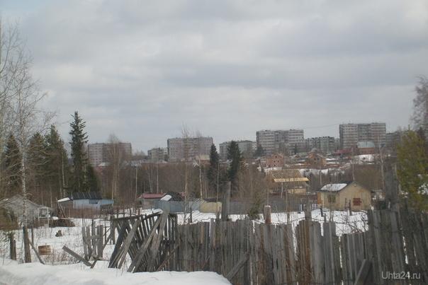 Вид на Пионер-гору с Земляничной :) Улицы города Ухта