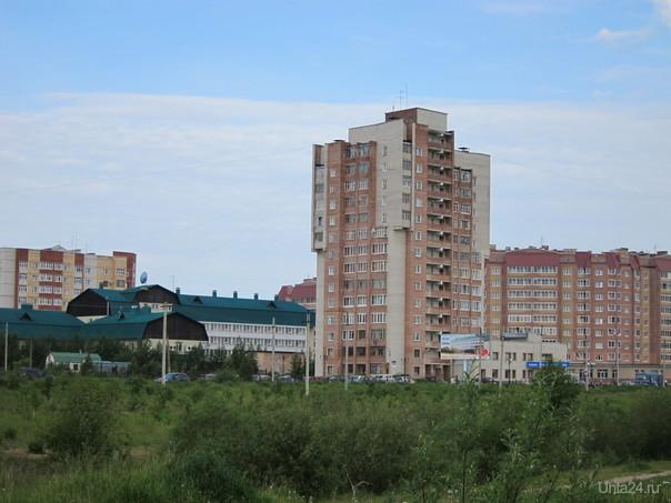 набережная Газовиков Улицы города Ухта