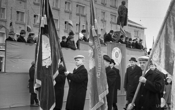 1 Мая 1968 г. Фото Белых В.А.  Ухта