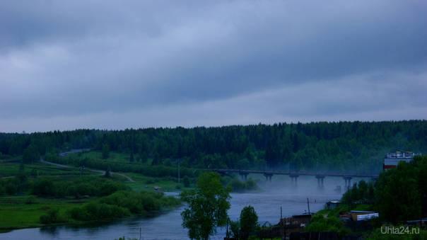 Шудаяг. Мост. Дорога на Ярегу Улицы города Ухта