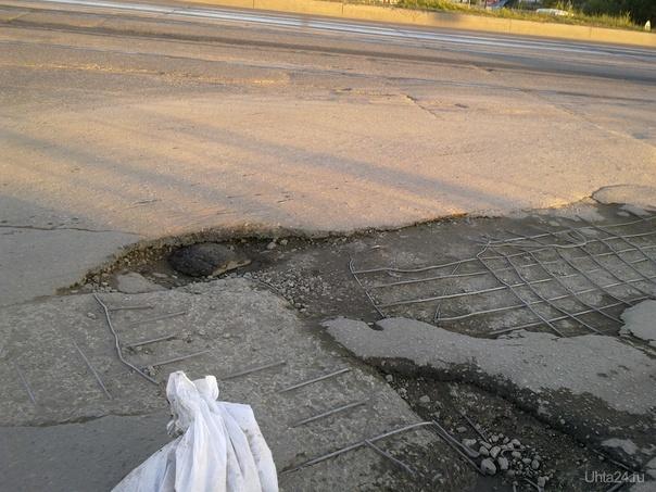 Ухтинцы самостоятельно ремонтируют дороги