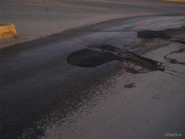 Жители Ухты самостоятельно ремонтируют автодороги