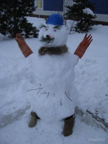 гламурный снеговик  Ухта
