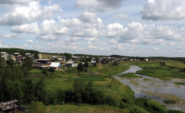2010г. Деревня Гажаяг , ухтинского района. Река Ижма. Природа Ухты и Коми Ухта