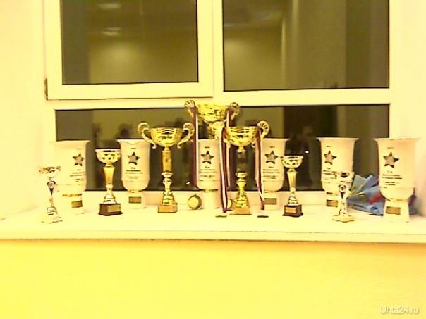"""Часть наград United Bit, полученных за призовые места на """"Русских Звёздах"""" в 2009 году. Мероприятия Ухта"""
