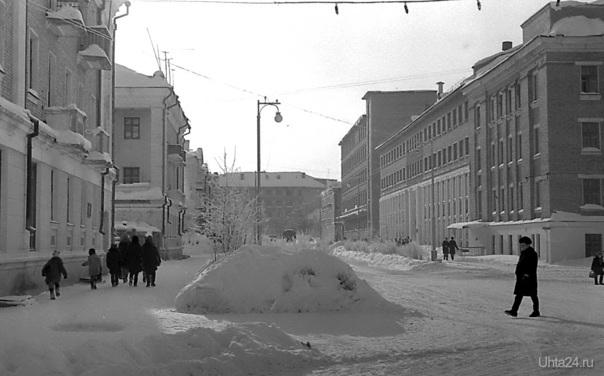 1968г. ул.Косолапкина. Фото Белых В.А.  Ухта