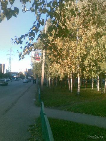Вот и осень пришла. Пр.Космонавтов. Улицы города Ухта