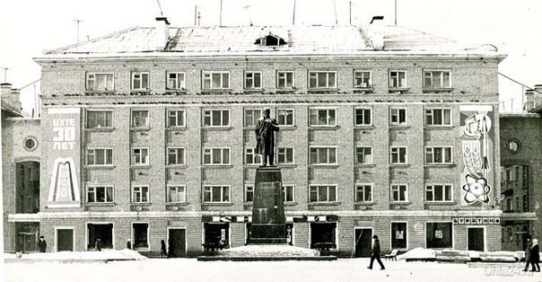 1973г.Первомайская пл. Фото В.Надеждина  Ухта