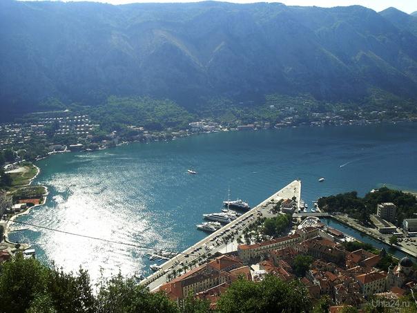 Черногория, Которская бухта, вид с крепостной стены Мир глазами ухтинцев Ухта