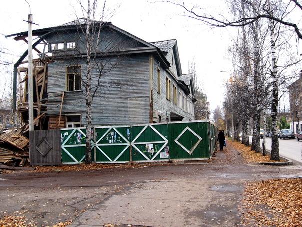 2010г. Первомайская.  Ухта