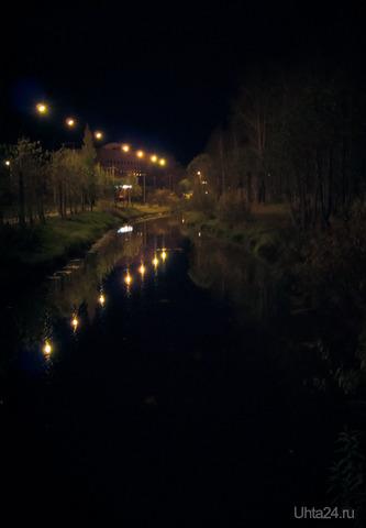 Ночной парк Природа Ухты и Коми Ухта