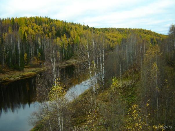 река Седью Природа Ухты и Коми Ухта