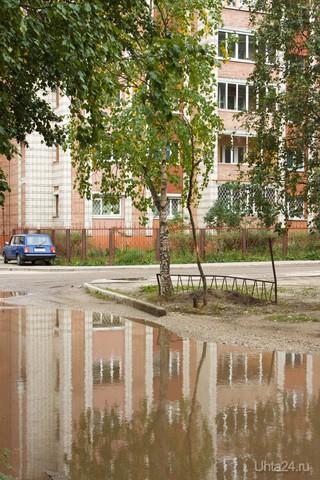 и после дождя бывает красиво... Улицы города Ухта