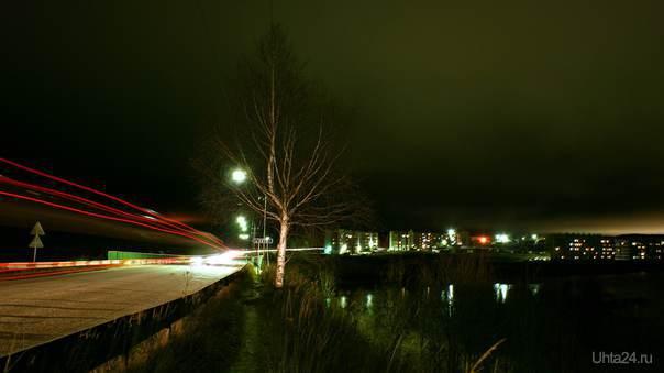 Сангородок. Мост  Ухта