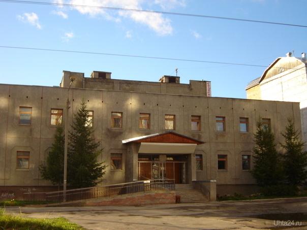 Грязелечебница Улицы города Ухта