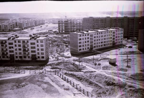 Комсомольская площадь, газпром только начал строится. Автор Алексей В  Ухта